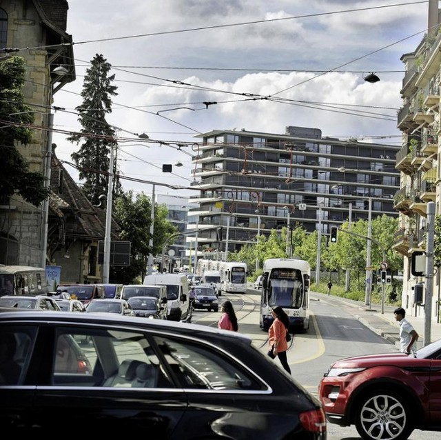 La loi sur la mobilité passe. L'initiative Verte est maintenue